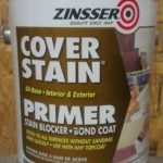 oil based primer to seal wallpaper adhesive