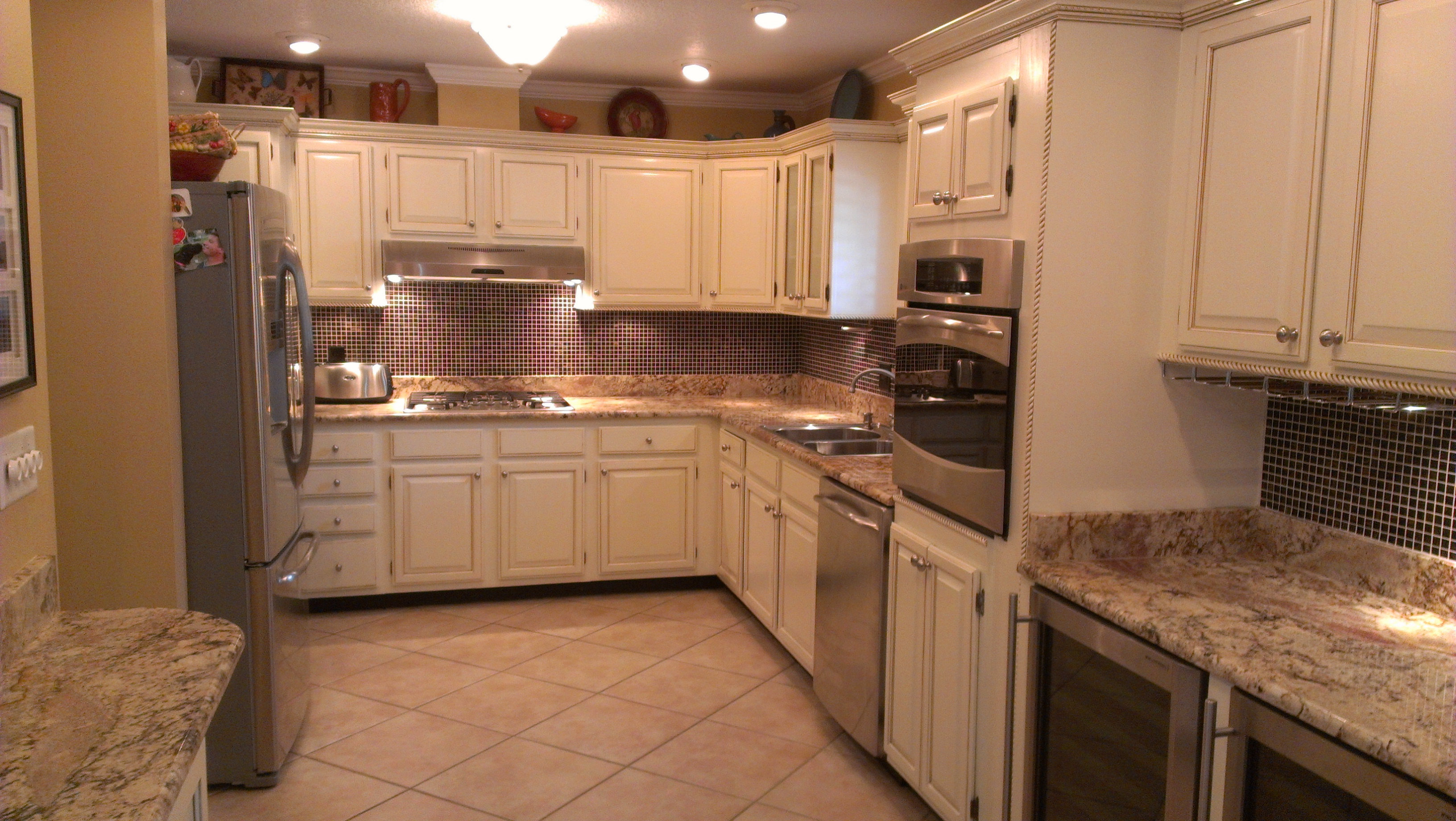 1 cabinet refinishing contractors in port orange for Refinishing old kitchen cabinets