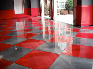 Garage Marble Metalic Floor
